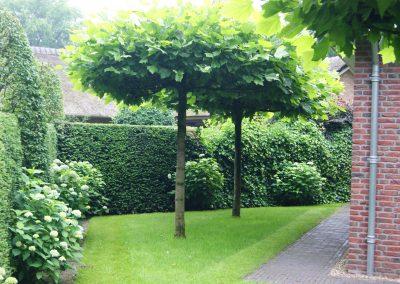 Aanleg tuin Lunteren